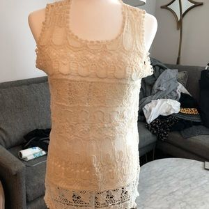 Women's cover up top size Small